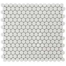 Home Depot Merola Penny Tile by Personalize Any Tiled Area Of Your Home With These White Easy To