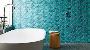 blue floor tiles for bathroom white ceramic floor tile wooden