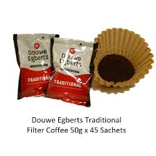 DOUWE EGBERTS FILTER COFFEE SACHETS 45 X 50G