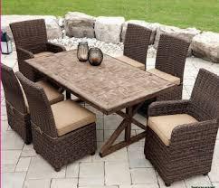 Dining Chairs Walmart Canada by Hometrends 7 Piece Faux Wood Dining Set Walmart Ca Backyard