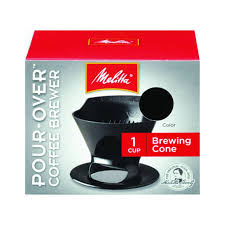 Amazon Melitta Ready Set Joe Single Cup Coffee Brewer Black Serve Brewing Machines Kitchen Dining