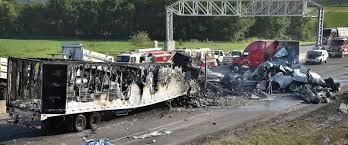 5 Dead In Fiery Semi Truck Crash - Casey & Devoti