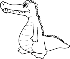 Coloring Pages Alligator Print Out For Kids