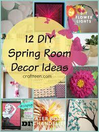 12 DIY Spring Room Decor Ideas