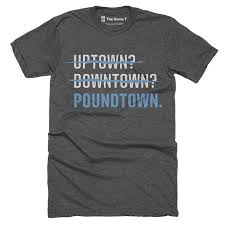 Poundtown Panthers Football T shirt The Home T