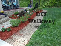 Diy Pea Gravel Patio Ideas by Diy Walkway For Your Home Youtube
