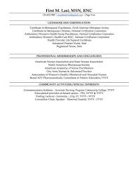 Sample Nurse Practitioner Resume
