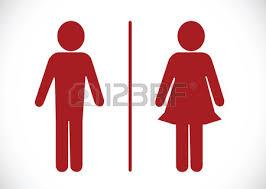 toilettes hommes femmes banque d images vecteurs et illustrations