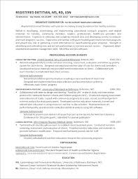 Nutrition Cover Letter Entry Level Resume Examples Dietitian And Dietetics Internship