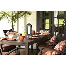 Dining Tables Lowes Outdoor Decor Shop Brown Rectangle Patio