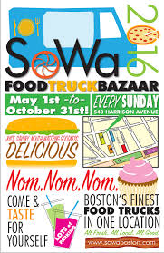 SoWa 2016: Food Truck Opening Day Lineup! — SoWa Boston