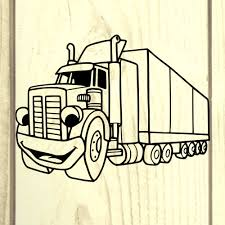 100 Semi Truck Decals SVG SVGs Clipart Etsy