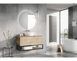 led badspiegel rondo beleuchtung aufgesetzt 90 cm