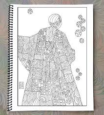 Coloring Book Quilted Women By SusanSchmitt On Etsy
