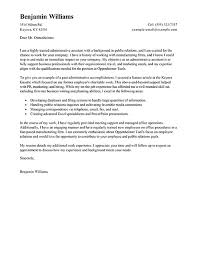 Cover Letter For Administrative Jobs Examples Job Sample Adriangatton Pertaining Free