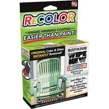 Tub Refinishing Training Florida by Rust Oleum Wipe New Recolor Color Restorer Kit Walmart Com