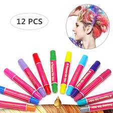 Hair Chalk Girls Toys And Kids Toys Makeup Kit Temporary Hair Chalk