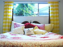 Peri Homeworks Collection Curtains Paris by Yellow White Striped Curtains Home Decoration Ideas