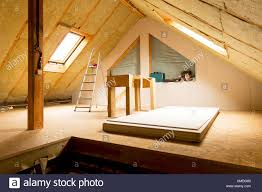 Insulating Cathedral Ceilings Rockwool by Interior Old Building Under Construction Stock Photos U0026 Interior