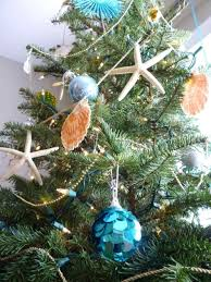 Beach Themed Christmas Tree