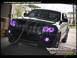 Oracle 11 13 Jeep Grand Cherokee LED ColorSHIFT Halo Rings