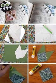 Cute Paper Monster Bookmark
