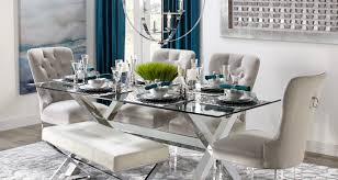 Cerulean Axis Dining Room Inspiration Table