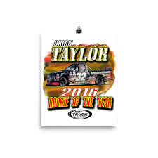 100 Arca Truck Series Brian Taylor ROTY ARCA Poster Products Pinterest