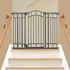 Banister Baby Gate Munchkin Baby Gates Child Gates Baby Gates For ... Model Staircase Gate Awesome Picture Concept Image Of Regalo Baby Gates 2017 Reviews Petandbabygates North States Tall Natural Wood Stairway Swing 2842 Safety Stair Bring Mae Flowers Amazoncom Summer Infant 33 Inch H Banister And With Gate To Banister No Drilling Youtube Of The Best For Top Stairs Design That You Must Lindam Pssure Fit Customer Review Video Naomi Retractable Adviser Inspiration Jen Joes Diy Classy Maison De Pax Keep Your Babies Safe Using House Exterior