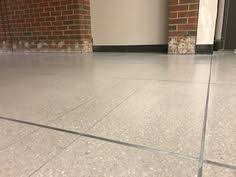 Terrazzo Floor Restoration Orlando by Terrazzo Restoration Terrazzo Patch At Mcleod Medical Center Www