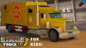 Modern City Garbage Truck L For Kids | Garbage Trucks | Pinterest ...