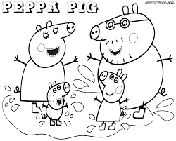 Great Peppa Pig Coloring Pages 85 With Additional Seasonal Colouring