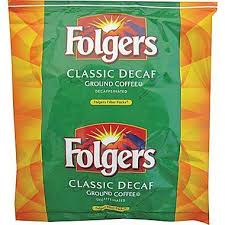 Folgers Coffee Ultra Decaffeinated Flavor Filters Ground 80 15oz Bags