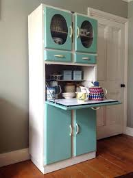 Vintage Kitchen Cabinets Calinia Metal With Glass Doors