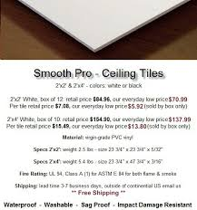 12x12 Ceiling Tiles Smooth by Ceiling Tile Superstore For New Ceiling Tiles