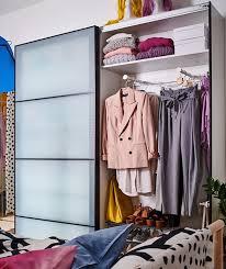ideen für begehbaren kleiderschrank im schlafzimmer ikea