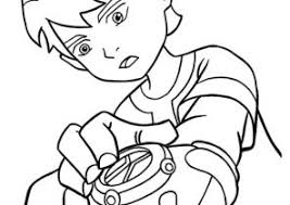 Ben 10 Watch Coloring Pages Coloring4free