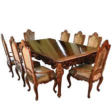 Italian Dining Set Furniture Table Antique Room With Chairs Buffet Consoles
