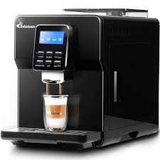 DE 180 One Button Fancy Automatic Espresso Coffee Machine Consumer And Commercial Office Freshly Ground Beans 19 Pa