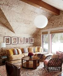Rustic Living Room At The Attic