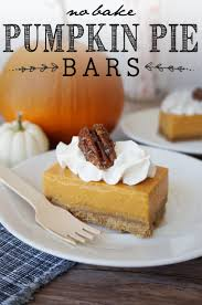 Preparing Pumpkin For Pie Filling by No Bake Pumpkin Pie Bars Yellow Bliss Road