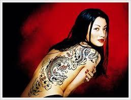 Tribal Back Tattoo Designs 1