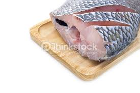 Isolated Fresh Nile Tilapia Fish On A White Background Stock Photo