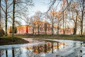 100 Where Is Latvia Located Park Of The Jelgava Palace Now University