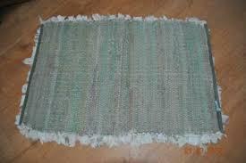 flickenteppich läufer teppich badezimmer grau blau impressionen