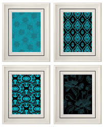 Teal Bathroom Wall Decor by Wall Decor Turquoise Courtyard Garden And Pool Designs
