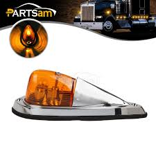 100 Marker Lights For Trucks Truck Semitrailer Amber Cab Roof Top Clearance Light Single