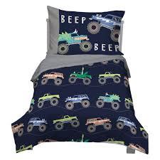 100 Toddler Truck Bedding 4 Piece Carters Monster Comforter Set By