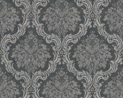 tapete vlies barock ornament anthrazit dunkelgrau 36716 6