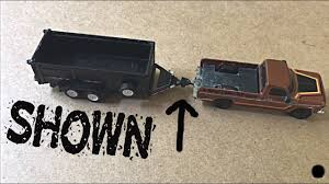 How I Hitch A Trailer To A Hot Wheels Truck (Shown) - YouTube